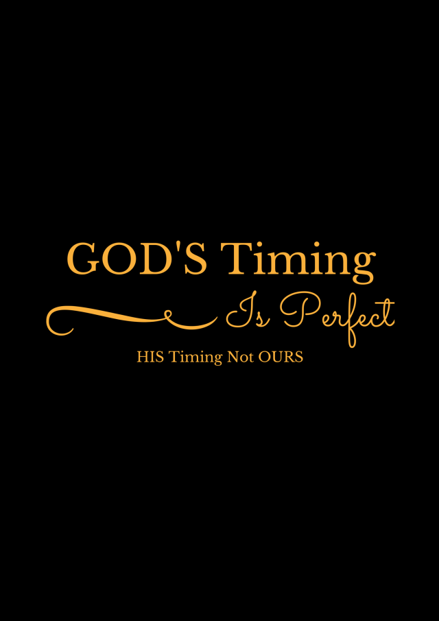 GOD'S Timing (1)